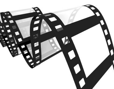 Bande de film vidéo