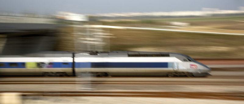 Passage d'un TGV