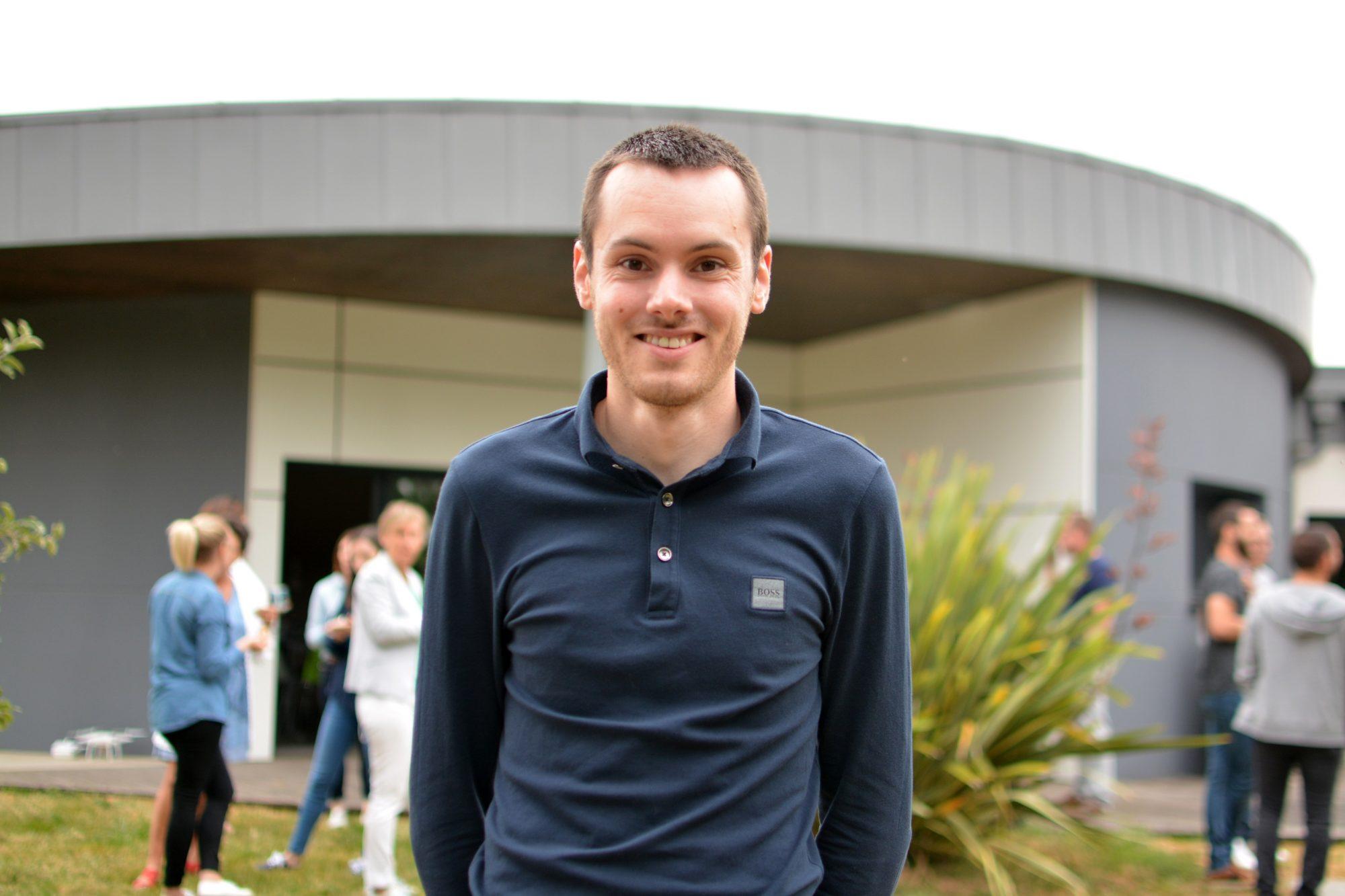 Anthony, agent d'études Plans Techniques chez TGSO.